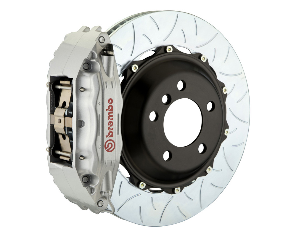 Brembo GT 355x32 2-Piece 4 Piston Silver Slotted Type-3 Front Big Brake Kit