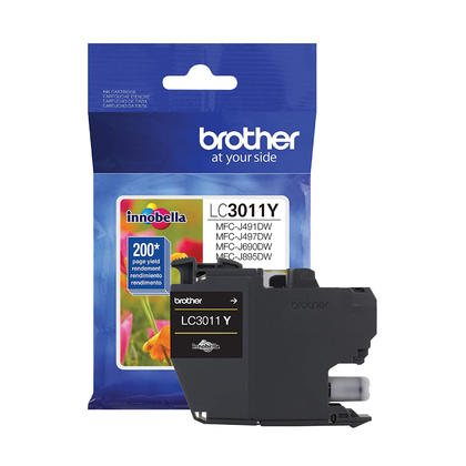 Brother LC3011Y Original Yellow Ink Cartridge