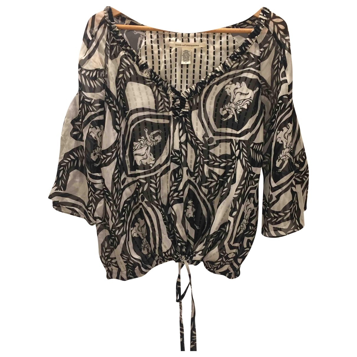 Diane Von Furstenberg \N Silk  top for Women 6 US
