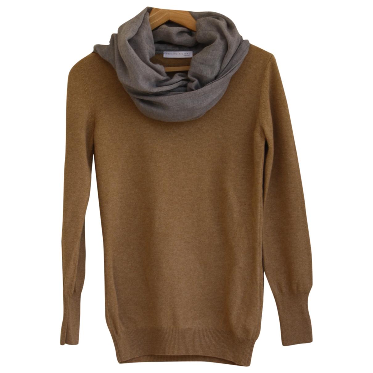 Fabiana Filippi \N Camel Wool Knitwear for Women 42 IT