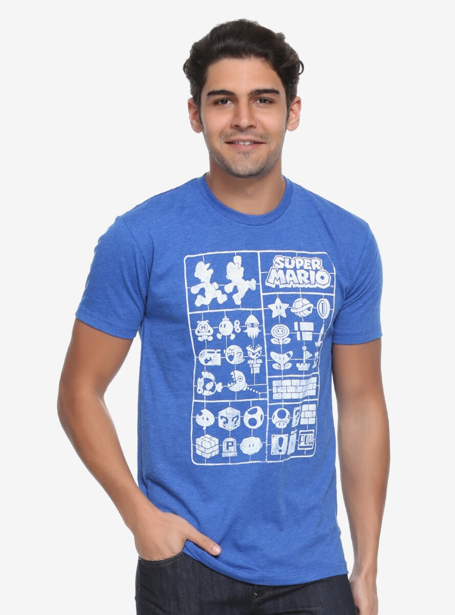 Nintendo Super Mario Icon Cut-Out T-Shirt - BoxLunch Exclusive