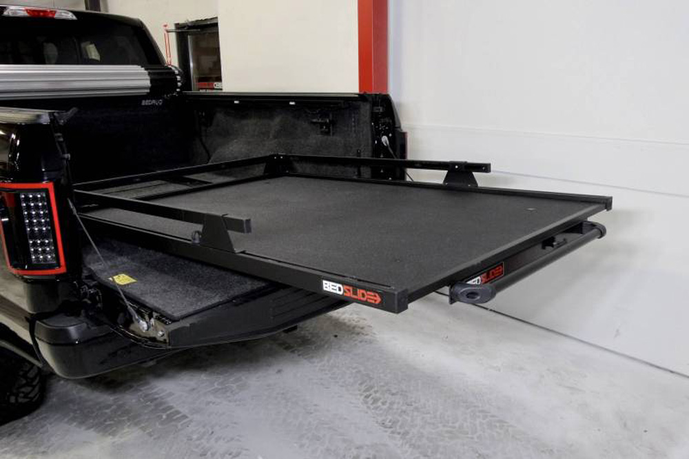 BedSlide 10-7848-CLB Classic 78 Inch x 48 Inch Black 2019 - Current Chevy/Gmc T1 Silverado/Sierra 6.9 Foot Beds