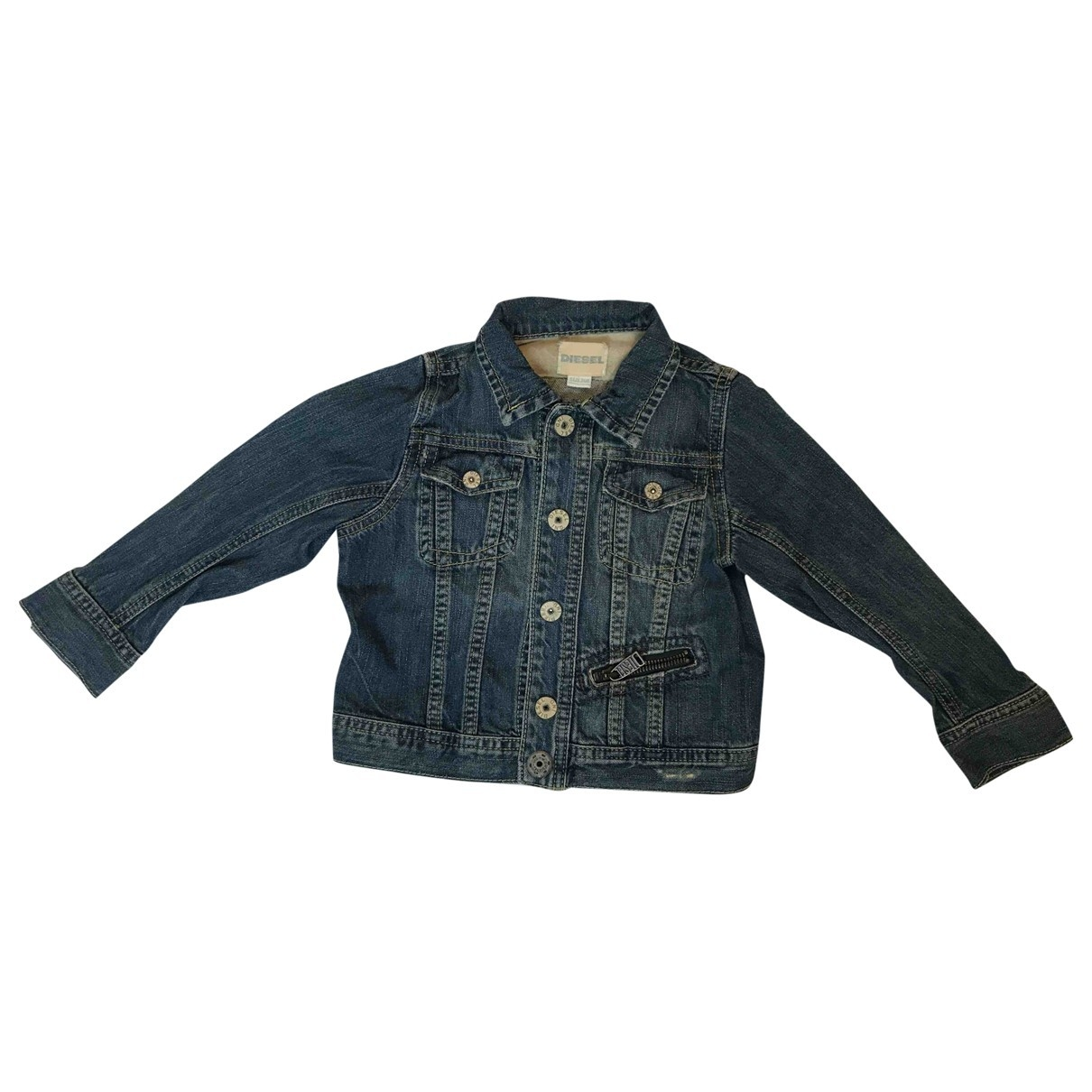 Diesel \N Blue Denim - Jeans jacket & coat for Kids 2 years - up to 86cm FR