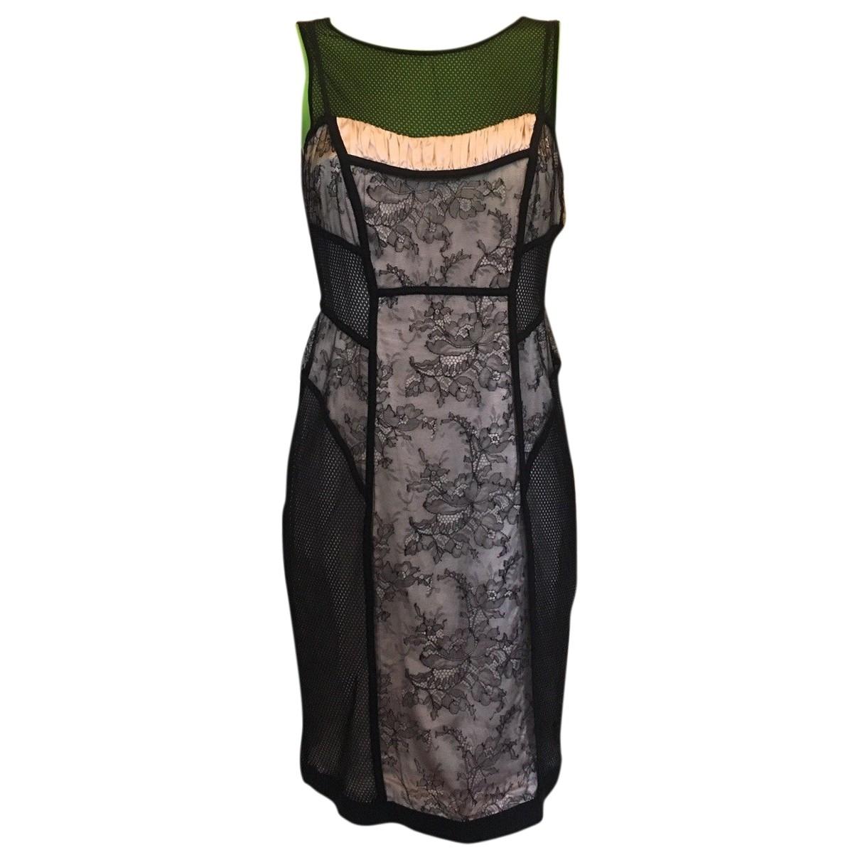 Marc Cain \N Black Cotton dress for Women 12 UK