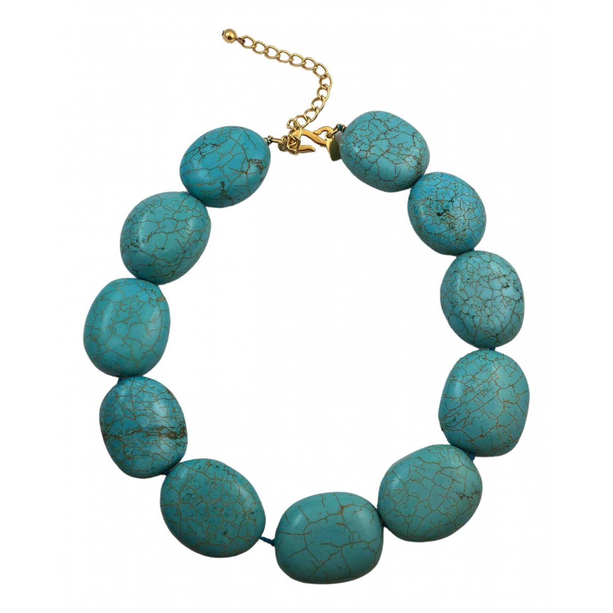 Kenneth Jay Lane \N Turquoise Pearls necklace for Women \N