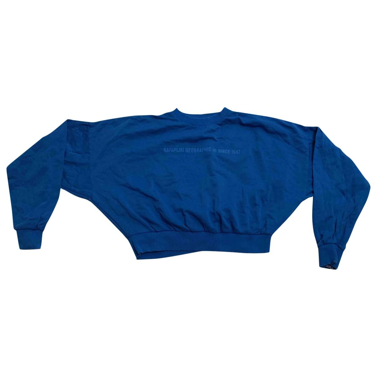 Napapijri \N Blue Cotton Knitwear for Women XS International