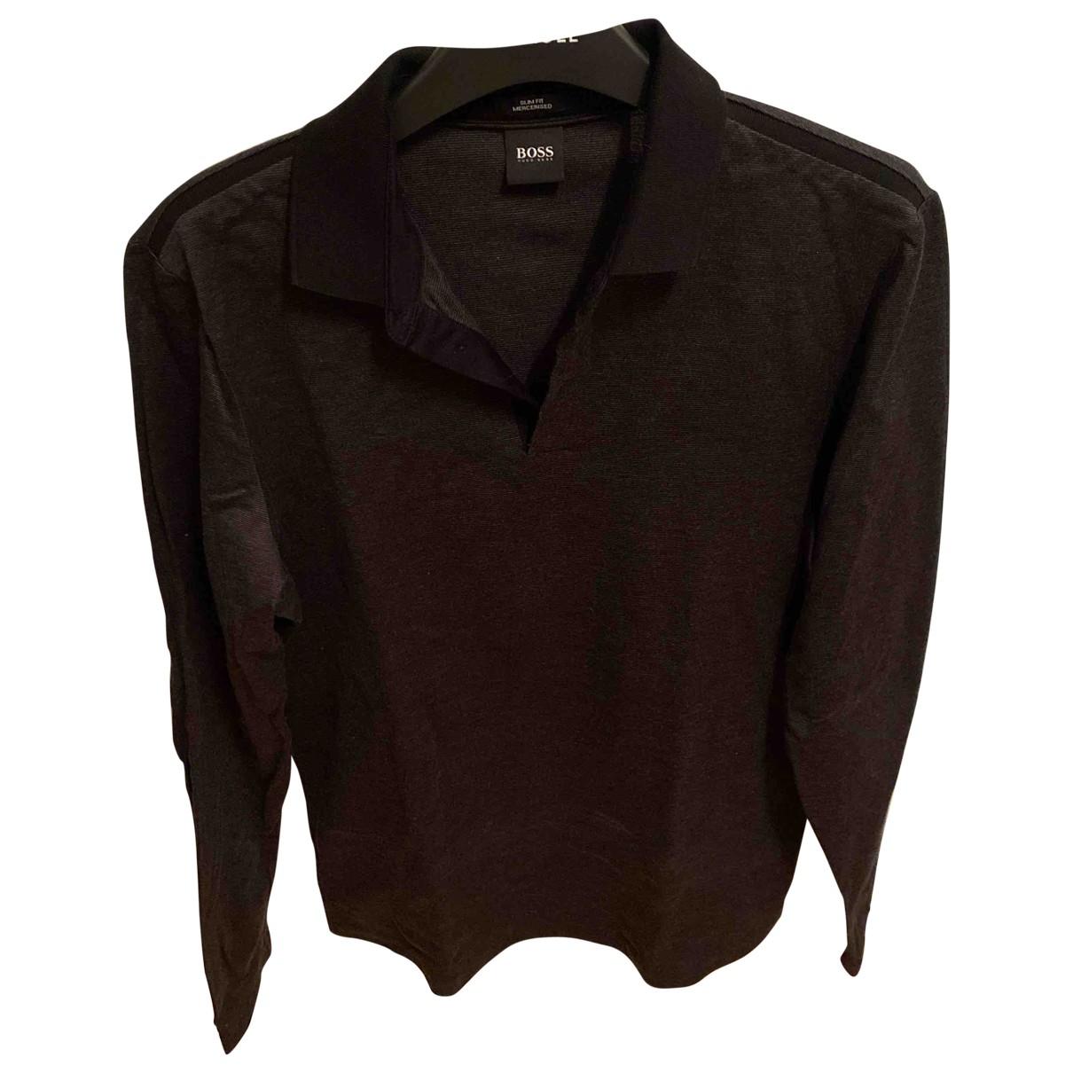 Boss \N Grey Polo shirts for Men M International
