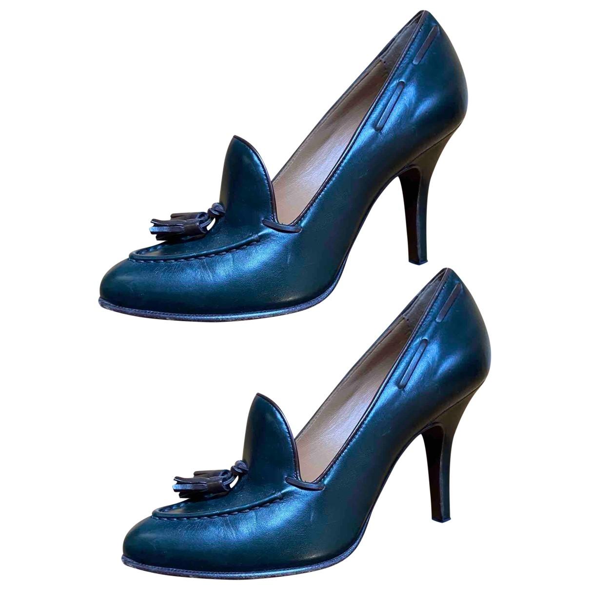 Fratelli Rossetti \N Green Leather Heels for Women 35 IT