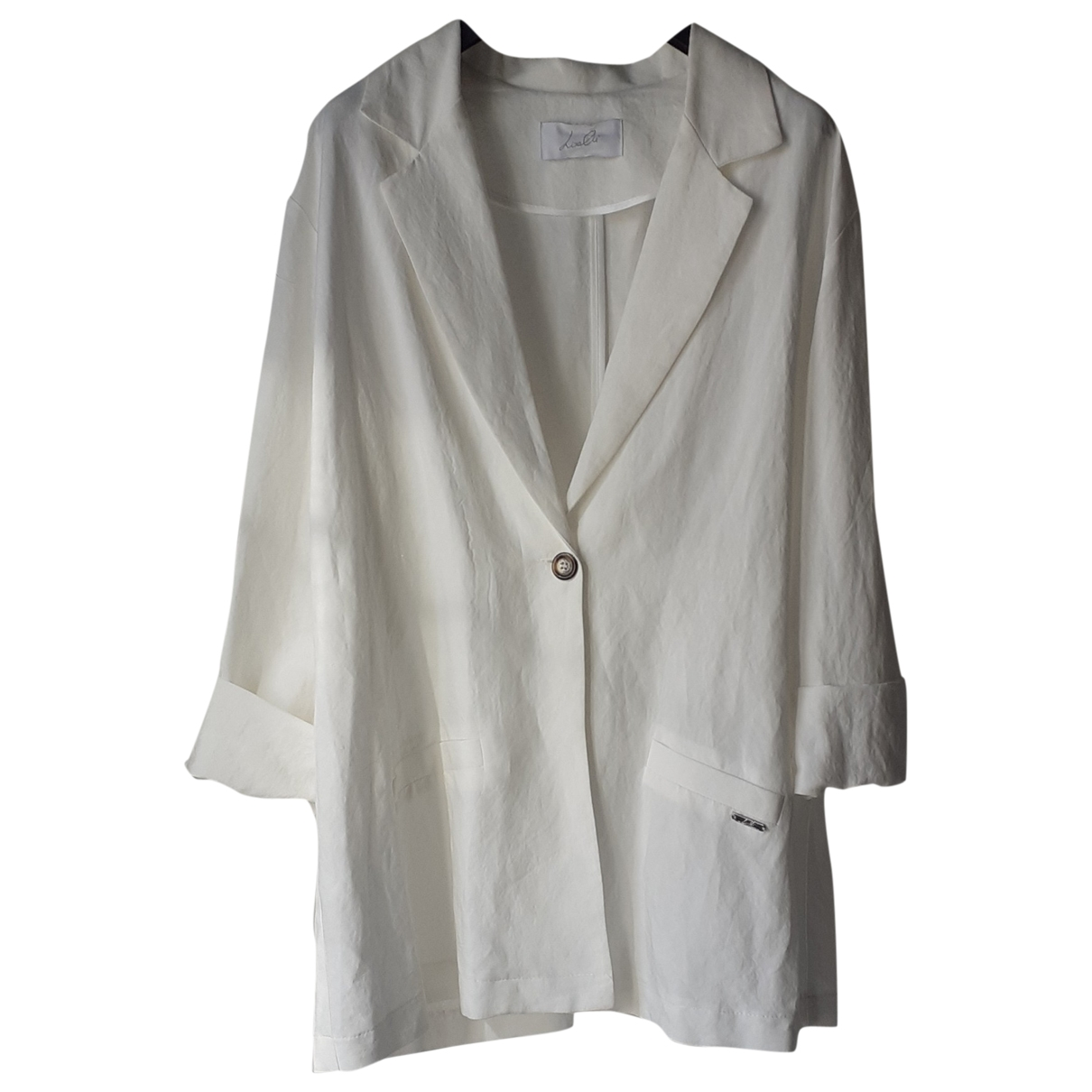 Non Signé / Unsigned Oversize White jacket for Women L International