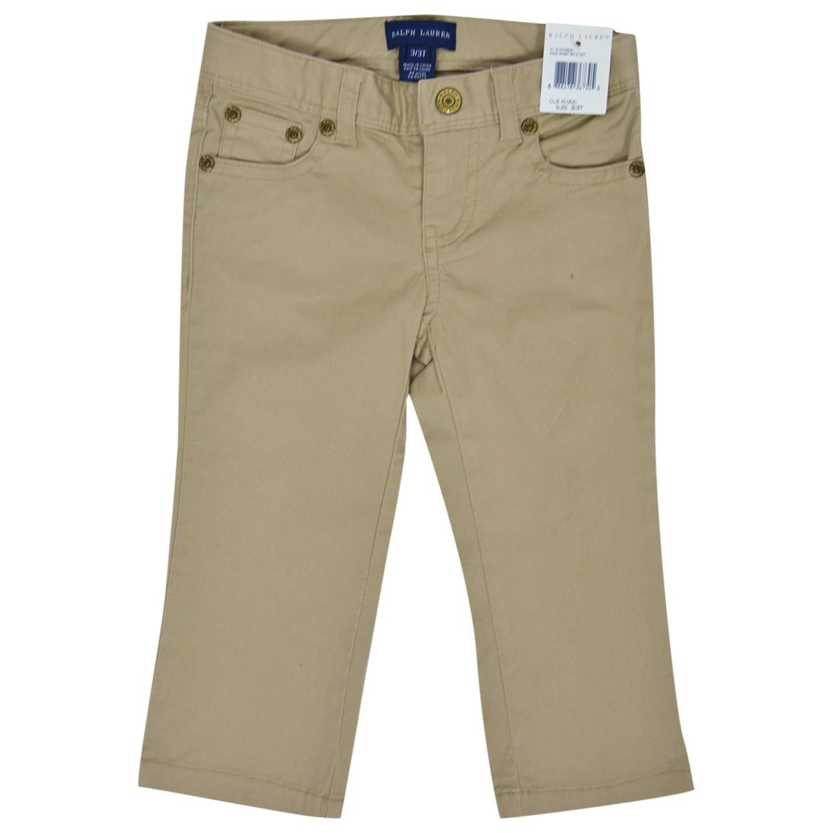 Ralph Lauren \N Beige Cotton Trousers for Kids 3 years - up to 98cm FR