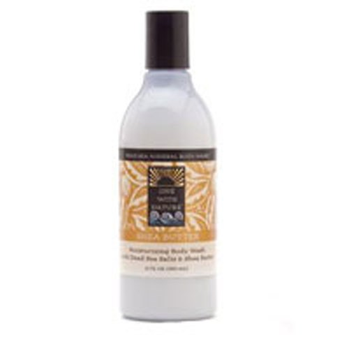 Body Wash Shea Butter 12 Oz by One with Nature