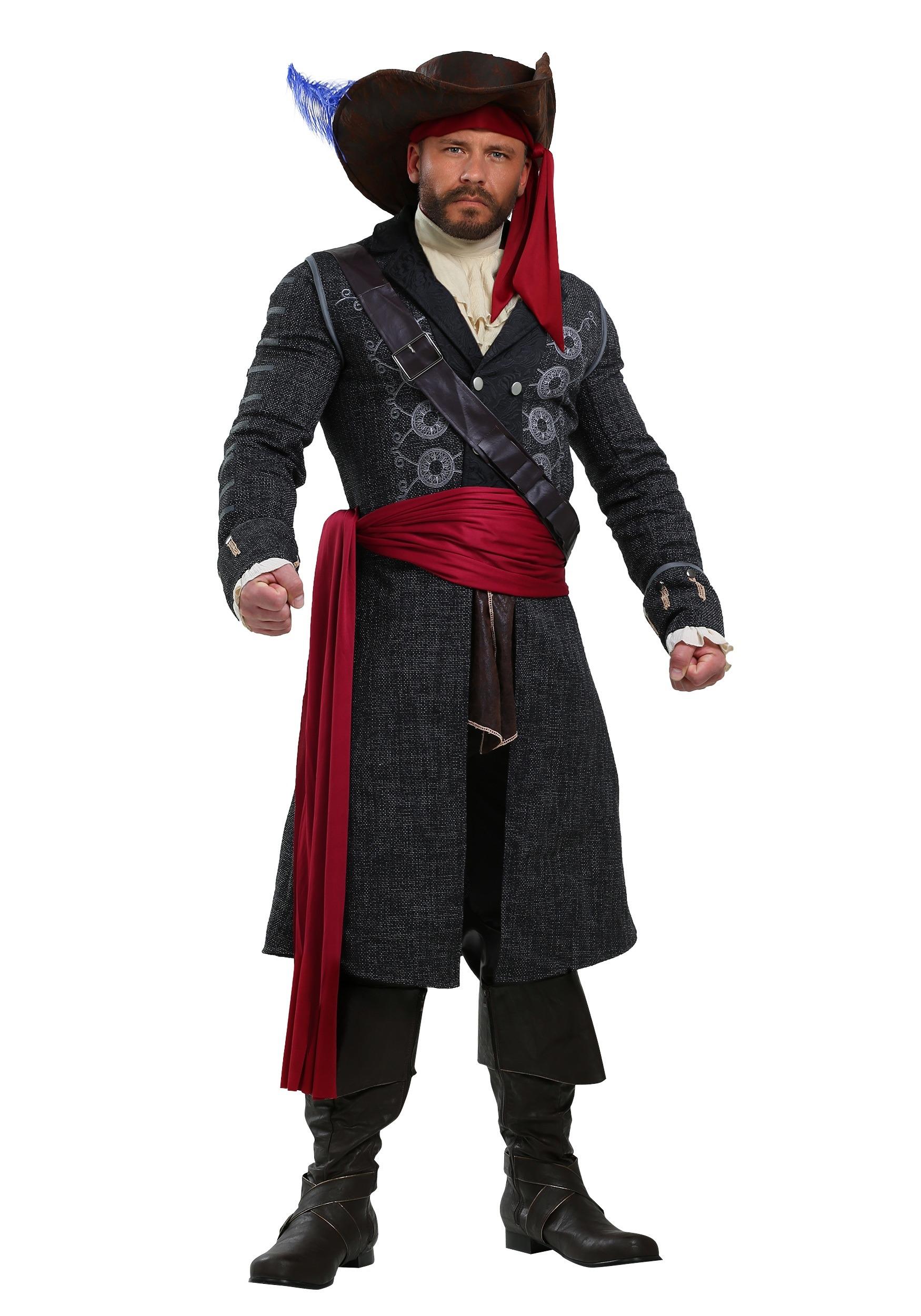 Blackbeard Costume for Men