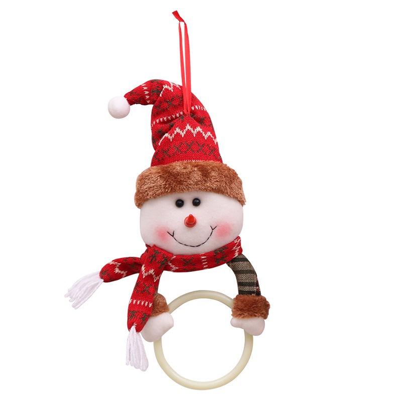 Ericdress Christmas Household Pendant Towel Ring