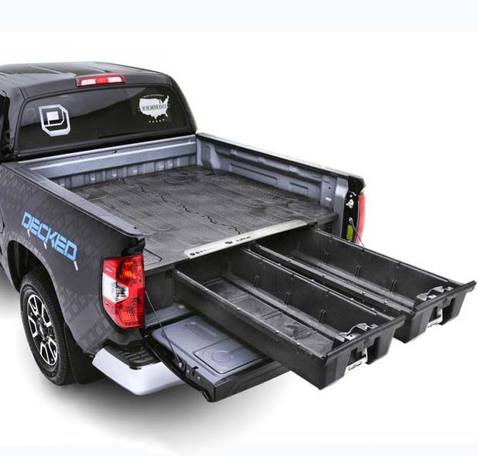 Decked Truck Bed Organizer Ford F150 Heritage 97-04 6 Ft 6 Inch