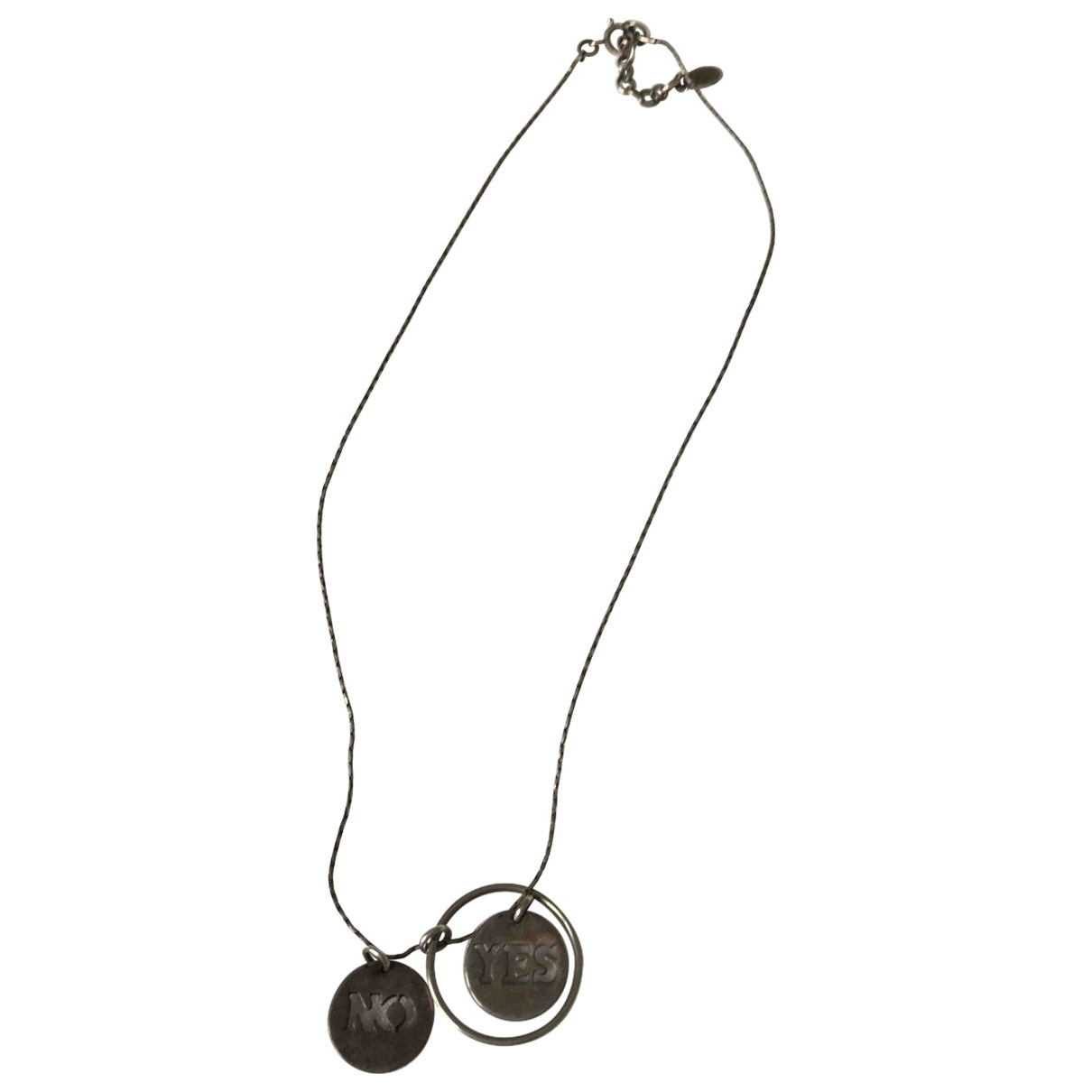 Gas \N Silver Metal necklace for Women \N