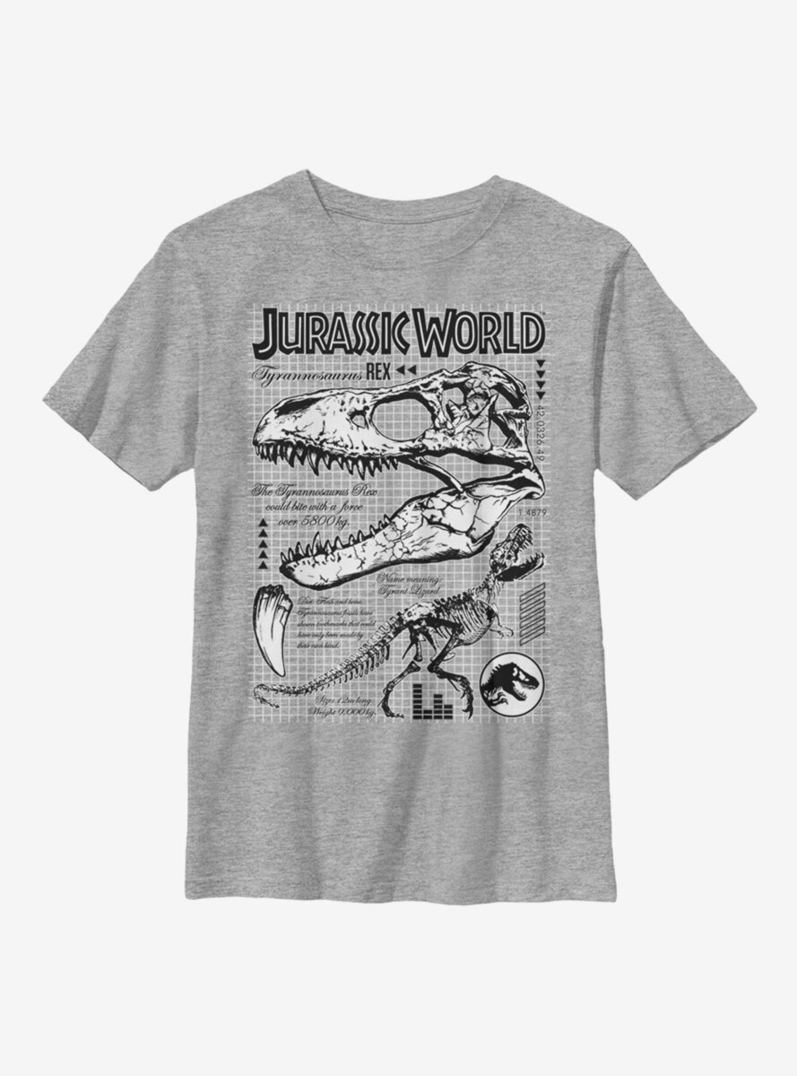 Jurassic World Bones Brigade Youth T-Shirt