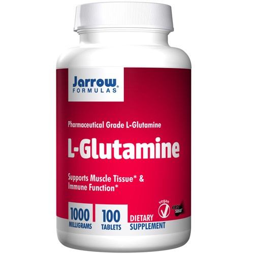 L-Glutamine 100 Tabs by Jarrow Formulas