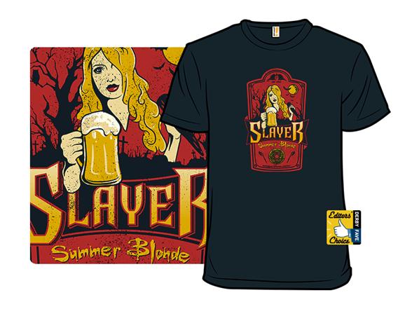 Slayer Summer Blonde T Shirt