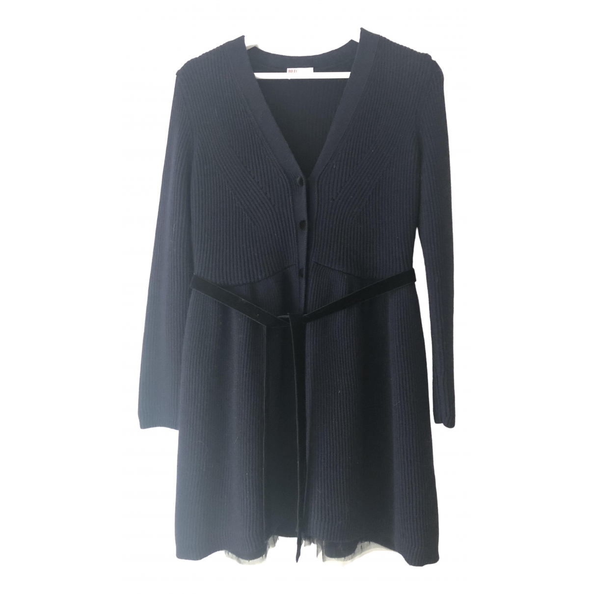 Red Valentino Garavani \N Blue Wool dress for Women L International