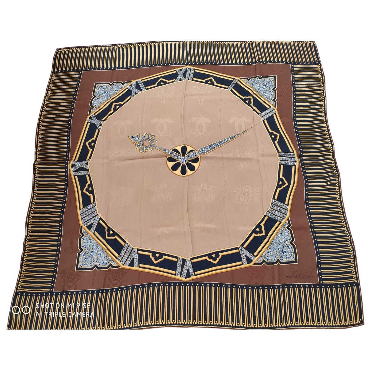 Cartier \N Multicolour Silk Silk handkerchief for Women \N