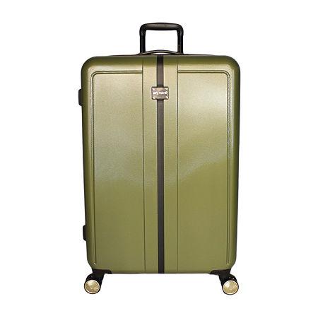Kathy Ireland Darcy 28 Inch Hardside Lightweight Luggage, One Size , Green