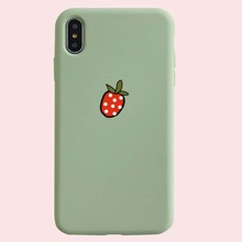 1pc Strawberry iPhone Case