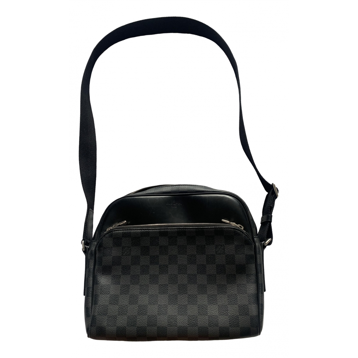 Louis Vuitton Daytona Reporter Black Cloth bag for Men \N