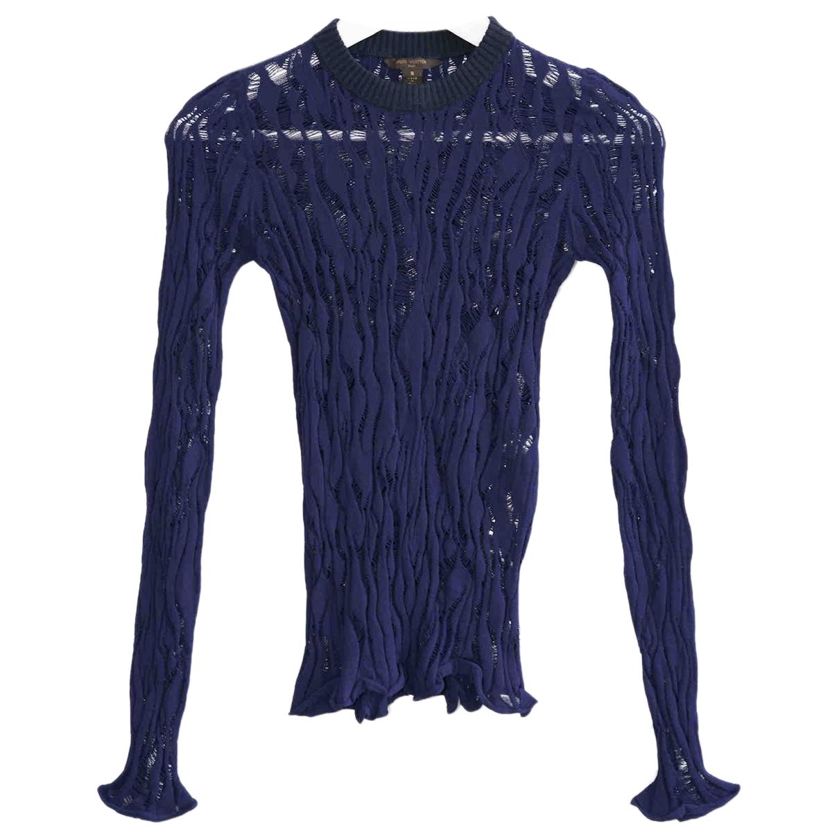 Louis Vuitton \N Navy Knitwear for Women S International