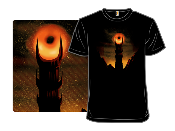 Blackhole Sauron T Shirt