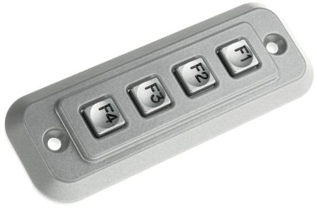 Storm IP65 4 Key Die Cast Zinc Keypad