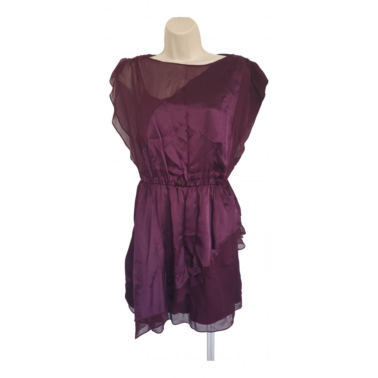 Alice & Olivia \N Purple Silk dress for Women S International