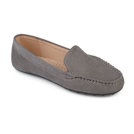 Journee Collection Womens Halsey Loafers, 12 Medium, Gray