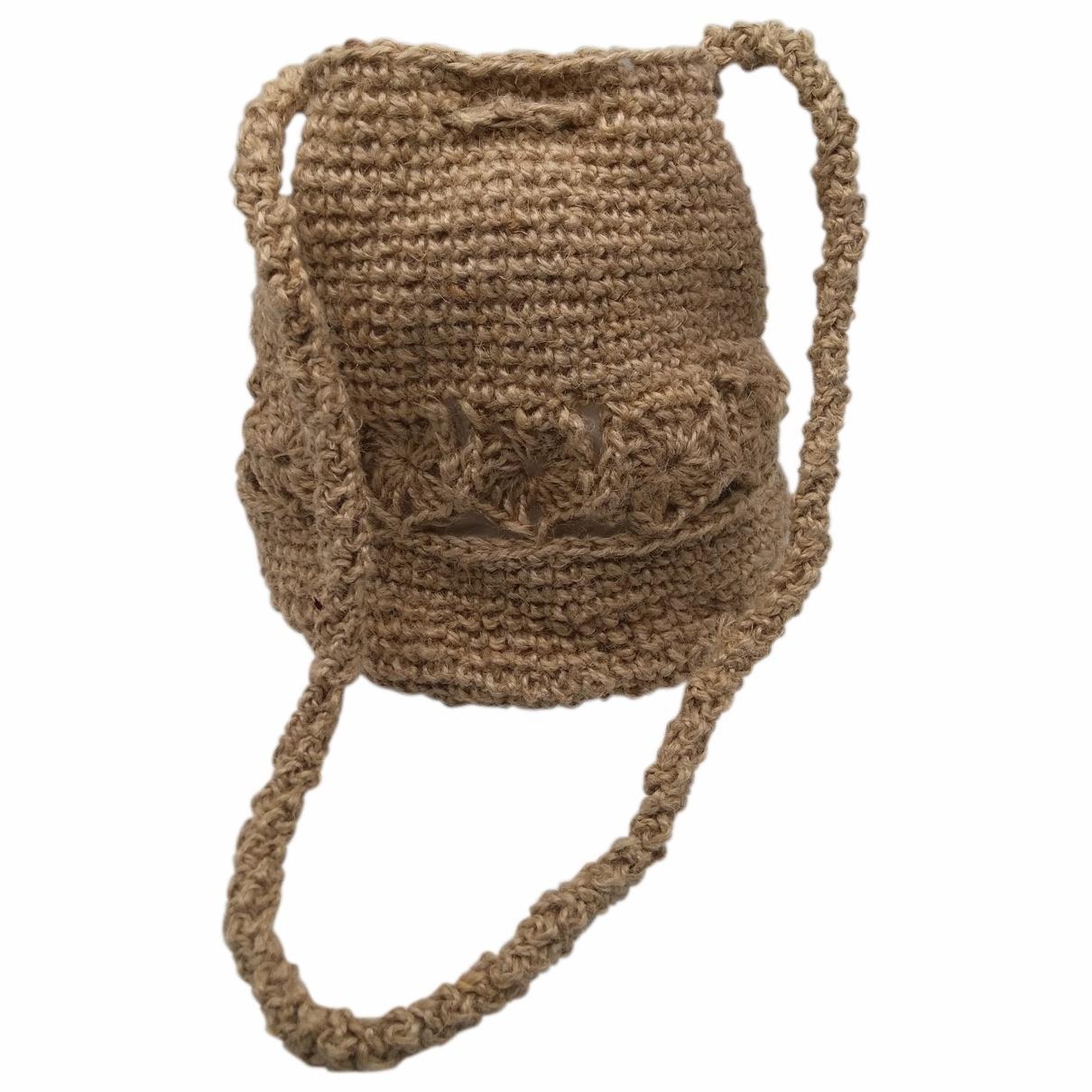 Non Signé / Unsigned \N Beige Cotton handbag for Women \N