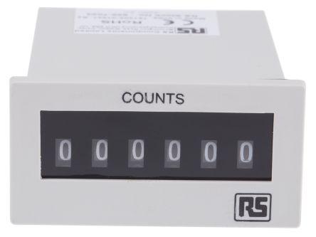 RS PRO , 6 Digit, Digital Counter, 10Hz, 230 V ac