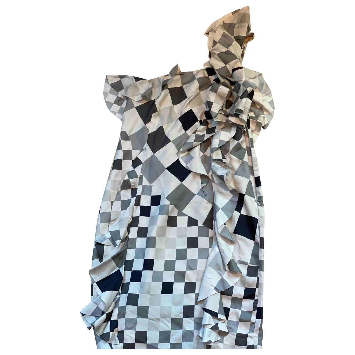 Paul Smith \N Multicolour Silk dress for Women 36 EU