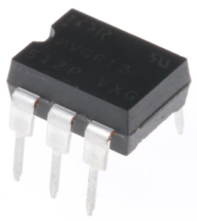 Infineon 2 A SPNO Solid State Relay, AC/DC, PCB Mount, MOSFET, 60 V Maximum Load