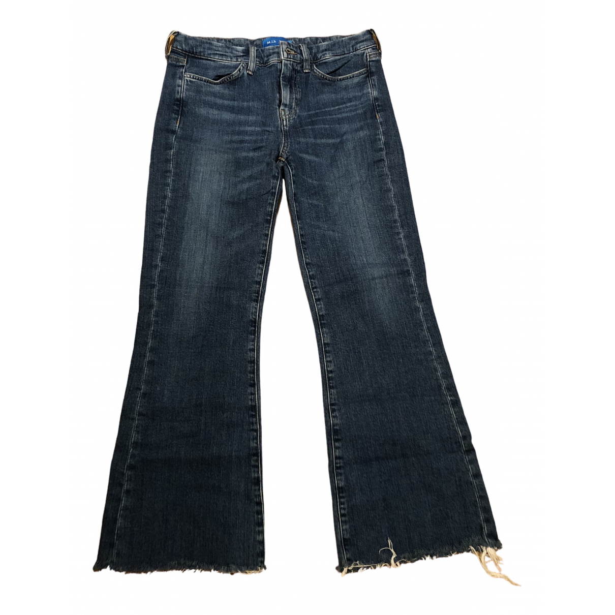 Mih Jeans \N Blue Denim - Jeans Jeans for Women 27 US