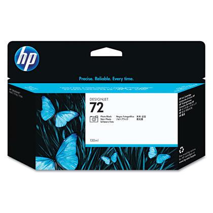 HP 72 C9370A cartouche d'encre originale noire photo haute capacité
