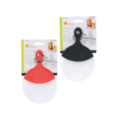 Can Strainer With Soft Grip Handle, 1 Randomized Color Per Pack Between 4 Colors
