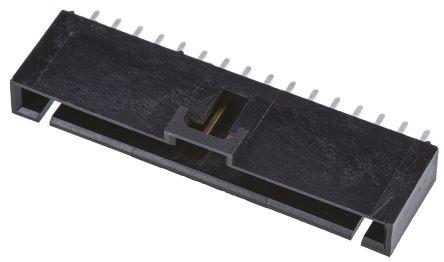 Molex , SL, 70543, 16 Way, 1 Row, Straight PCB Header (10)