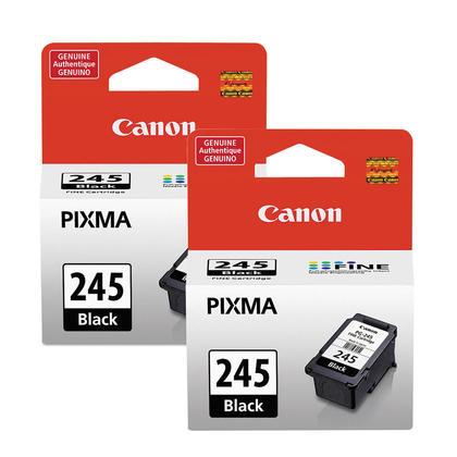 Canon PG245 8279B001 cartouche d'encre originale noire double pack
