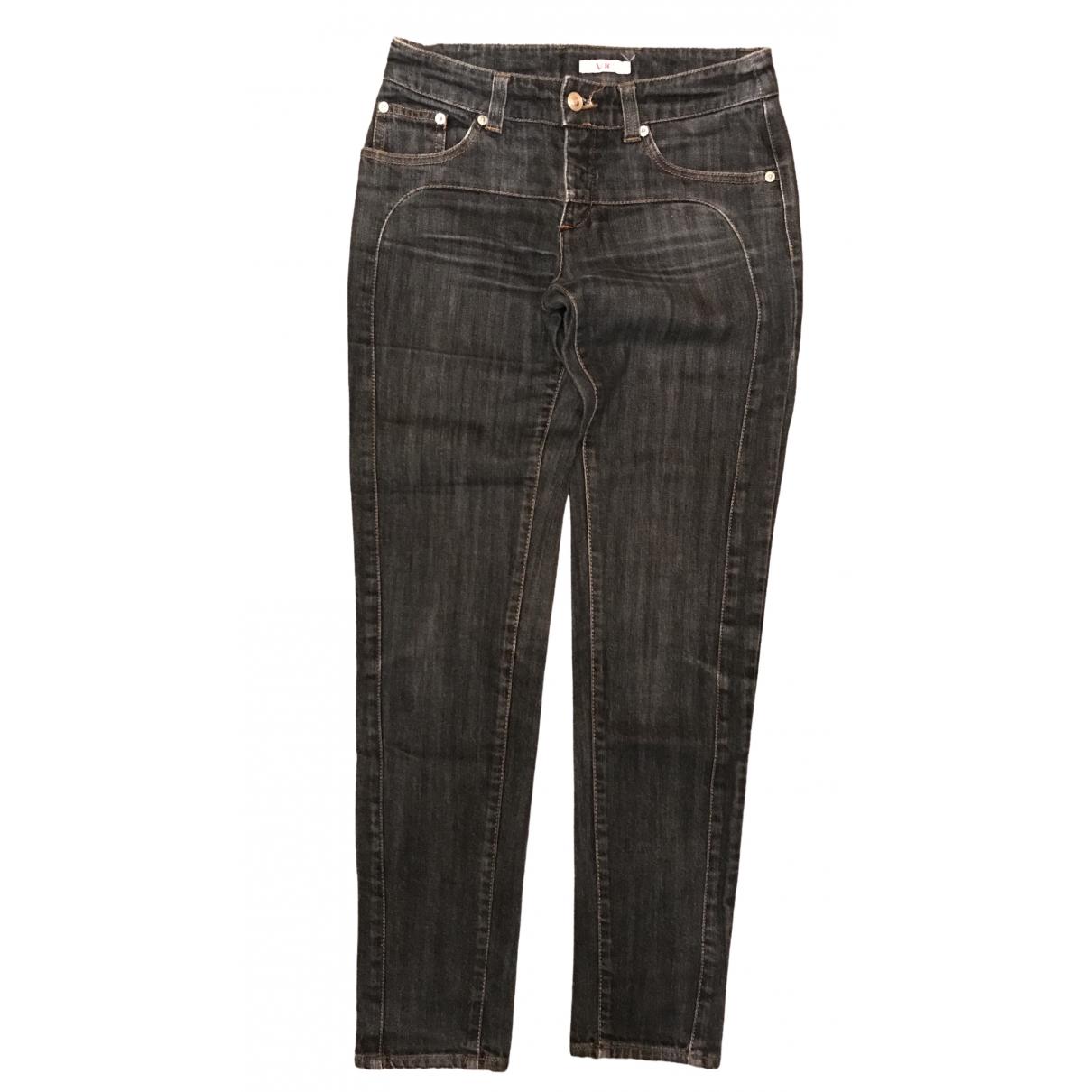 Versace Jeans \N Black Cotton Jeans for Women 27 US