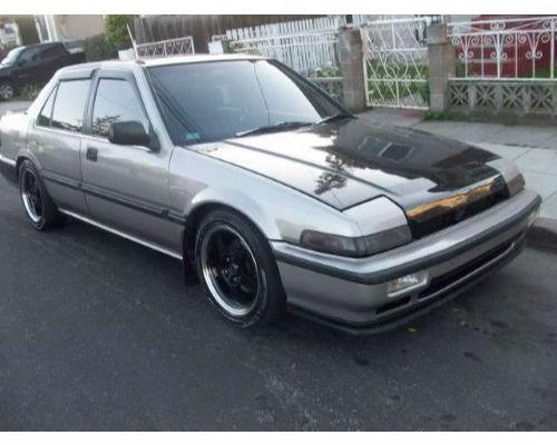 Advan Carbon BKHA86-AC325HC OEM Style Carbon Fiber Hood Honda Accord 1986-1989