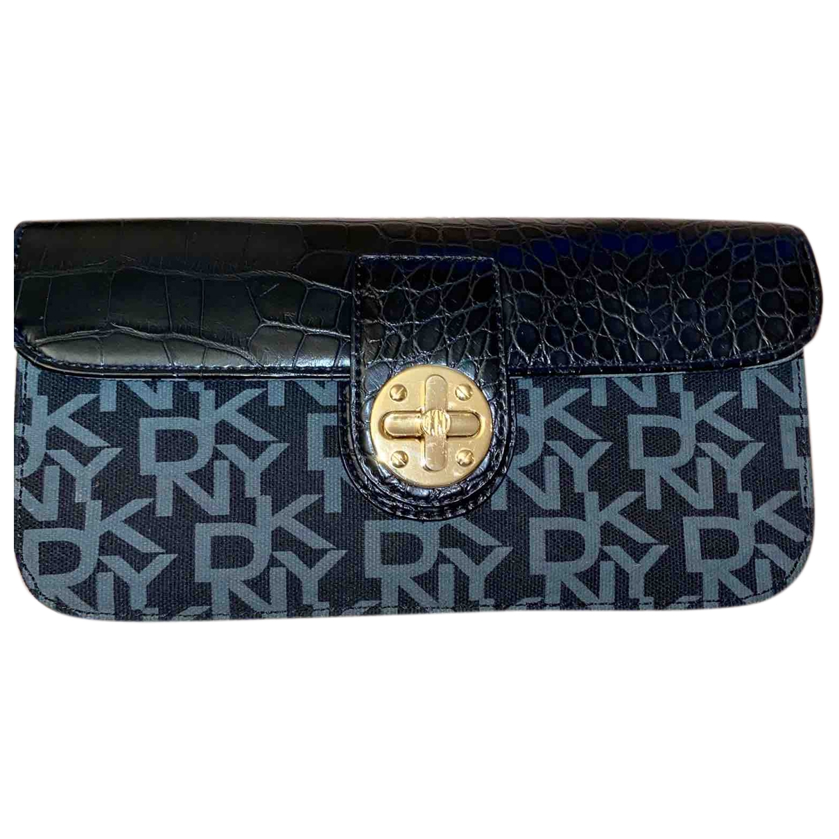 Dkny \N Black Cloth Clutch bag for Women \N