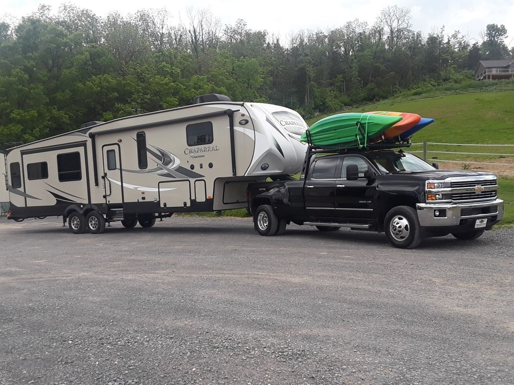US Rack 82551111 Fifth Wheel 6 Truck Bed Rack Black Mild Steel Ford F-150 04-19