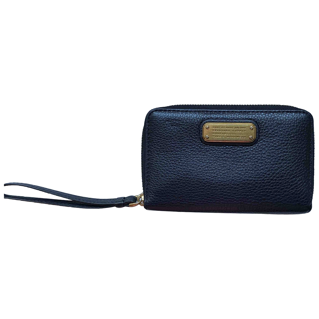 Marc By Marc Jacobs \N Black Leather wallet for Women \N