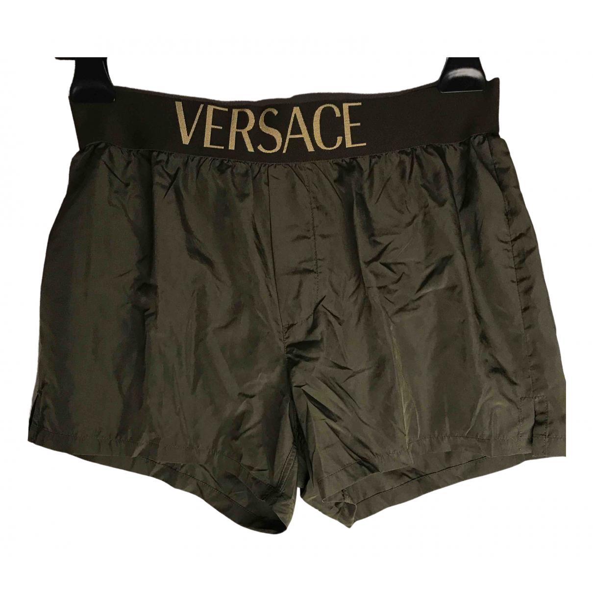 Versace \N Khaki Swimwear for Men 46 IT
