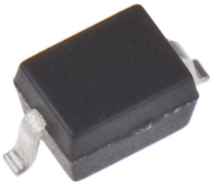ON Semiconductor , 5.2 (Maximum)V Zener Diode ±2% 300 mW SMT 2-Pin SOD-323 (3000)