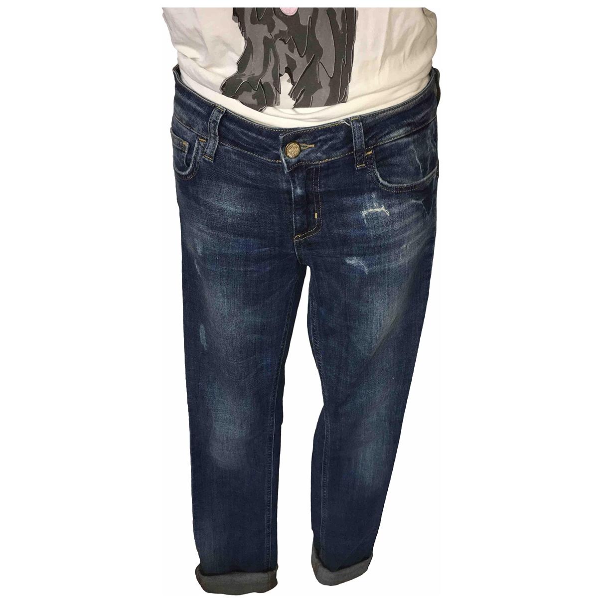 Liu.jo \N Blue Cotton - elasthane Jeans for Women 28 US