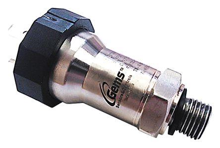 Gems Sensors Pressure Sensor for Air, Gas, Water , 0.35bar Max Pressure Reading Current